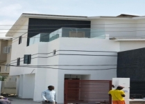 DISCOUNT SALES!!!  FULLY LUXURY 3 PROPER BEDROOM SEMI DETACHED DUPLEX WITH A STUDY ROOM AND A BQ WITH A ROOF TOP LOUNGE OFF ADMIRALTY, AT LEKKI PHASE1. FEATURES: ALL ROOMS ENSUITE, CAR PARK SPACE FOR 4CARS, ALL WITH QUALITY DESIGNED ELECTRICAL FITTING AND