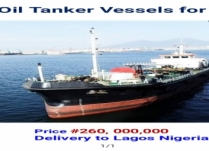 FOR SALE: MARINE OIL TANKER 1,338DWT!!!