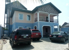 5BEDROOM DETACHED DUPLEX WITH PENTHHOUSE IN WELL GATED ESTATE WITH STRICT ACCESS CONTROL AND ESTATE SECURED BY ARMED MOPOLS AT PARADISE ESTATE, GBALAJAM, NEW WOJI LAYOUT PORT HARCOURT!!!