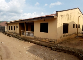 A MINI ESTATE OF 3UNITS OF 6 NUMBER OF 3BEDROOM FLATS EACH UNIT CONTAINS 2 OF 3BEDROOM FLATS, BUILDING SEATING ON 3PLOTS OF LAND(1,720.360 SQM) URGENT FOR SALE AT OLOGEDE, ADO- EKITI, EKITI STATE!!!   A MINI ESTATE OF 3UNITS OF 6 NUMBER OF 3BEDROOM FLATS