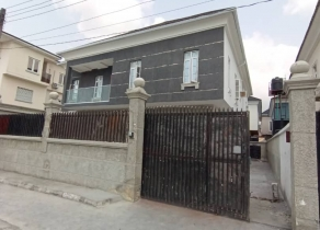 NEWLY BUILT 5BEDROOM DETACHED DUPLEX WITH A ROOM BQ AT CHEVRON LEKKI LAGOS!!!