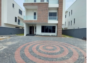 NEWLY BUILT 5BEDROOM DETACHED DUPLEX WITH BQ AT LEKKI RIGHT LAGOS!!!