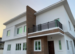 NEWLY BUILT SUPER LUXURY 5BEDROOM DETACHED DUPLEX WITH A BQ AND SWIMMING POOL IN WELL SECURED AND STRUCTURED ESTATE AT WESTEND ESTATE, LEKKY COUNTY OFF THE LEKKI EXPRESSWAY BEFORE MEGA CHICKEN AND VGC LAGOS!!!