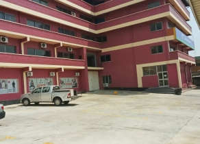 A FIVE STOREY BUILDING SITTING ON ALMOSST 5PLOTS OF LAND AT OPEBI ROAD IKEJA LAGOS!!!