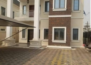 NEWLY BUILT 5BEDROOM FULLY DETACHED DUPLEX ENSUITE WITH A BQ AT LEKKI PHASE1 LAGOS!!!